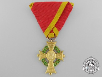 A Fine House Order of Henry the Lion; Merit Cross First Class in Gold