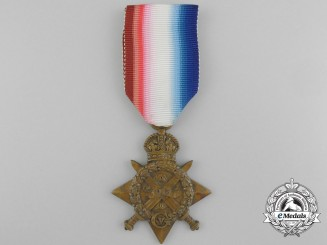 A 1914 Star to the 1st Mule Corps