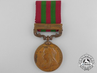 A 1896 India Medal to the Construction Transport Department