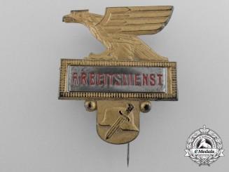 A RAD Reichsarbeitsdienst Badge