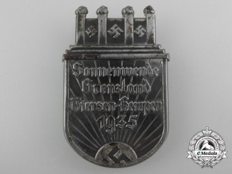A 1935 Sonnenwende Grenzland Viersen Kempen Badge