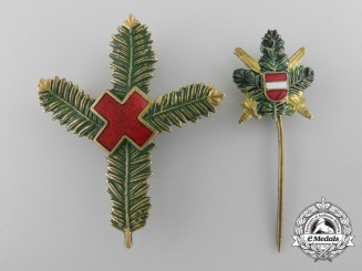 A Set of First War Austrian Patriotic Badges 1914-15-16