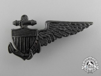 A First War Period American Dirigible Pilot Badge