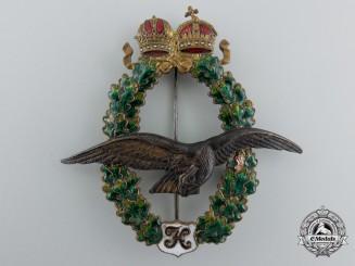 A Late War Austrian Pilot's Badge