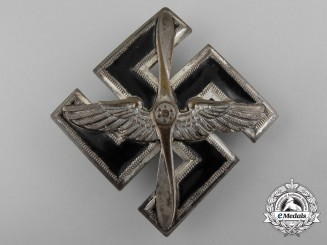 Germany, DLV. A Rare SA/SS/DLV Flieger Pilot's Badge, by Wurster Mark. Neukirchen