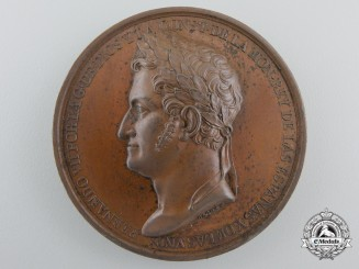 Spain, Kingdom. A 1820's Ferdinand VII of Spain Medal