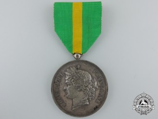 An 1888 French National Rifle Association Medal