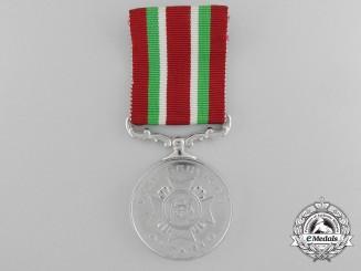 An Ontario Fire Service Long Service Medal