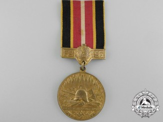 A Medal for the 10th Anniversary of the Founding of the Union of Latvian Firemen (Latvijas Ugunsdzēsēju Savienības) 1931