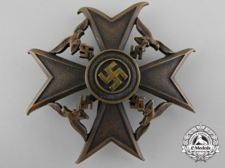 A Bronze Grade Spanish Cross by Paul Meybauer