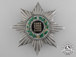 An 1840's Hessen Order of Ludwig; Grand Cross Star by Schnitzpahn