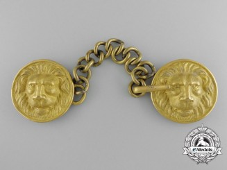 A Second War Kriegsmarine Admirals Cape Clasp Set
