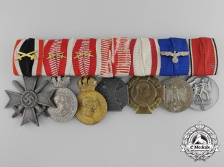 A German & Austrian Second War Long Service Combatant's Group
