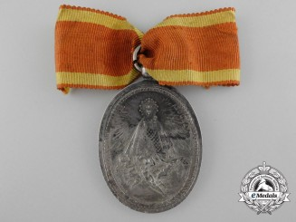 A Rare 1819 Spanish Medal for the Religious Convent of Atocha