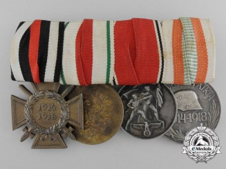 An Austro-Hungarian Medal Bar