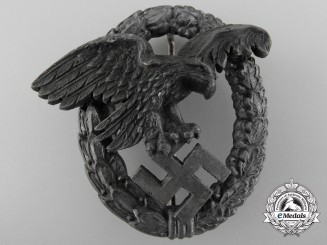 A Late War Luftwaffe Observer's Badge by Paul Meybauer