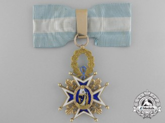 A Fine Spanish Order of Charles III;  Commander's Cross in Gold