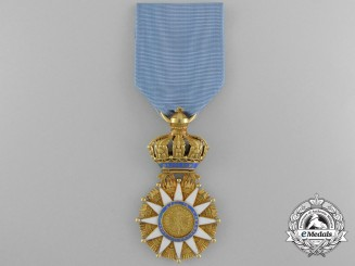 A French Napoleonic Order of the Reunion in Gold 1811