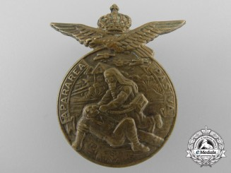 A Scarce Second War Romanian Anti-Aircraft Merit Badge
