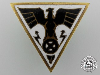 A Scarce Second War German NSKK Driver's Proficiency Badge