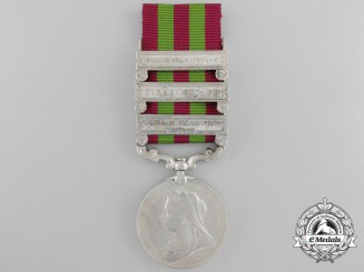An 1898 India General Service Medal to the 45th Sikhs