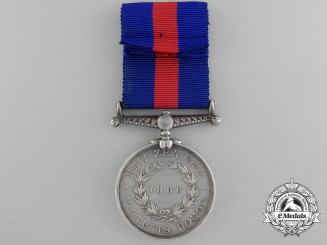 A 1866 New Zealand Campaign Medal to the Military Train; 4th Battalion