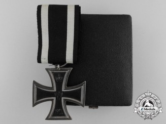 An Iron Cross Second Class 1914 with Case & Marked