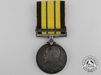 1902-56 Africa General Service Medal to the HMS Naiad