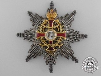 An Austrian Order of Franz Joseph; Commander's Star by V. Mayer