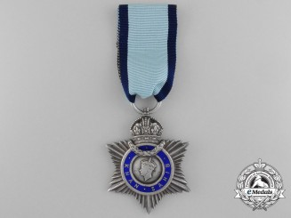 A 1943 George VI Indian Title Badge to Khan Wali