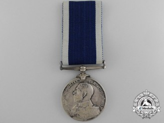 A Naval Long Service & Good Conduct Medal