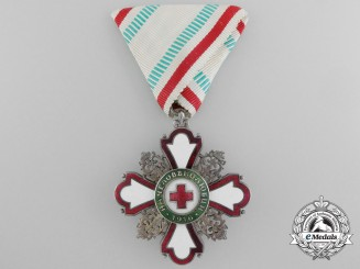 Bulgaria, Kingdom. A Red Cross Order, c.1917