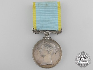 An 1854-56 Crimea Medal to the 9th Battalion; Land Transport Corps