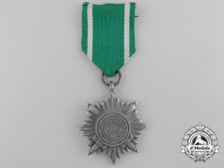 An Ostvolk Merit Award; 2nd Class Silver Grade