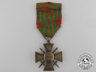 A First War French War Cross 1914-1916