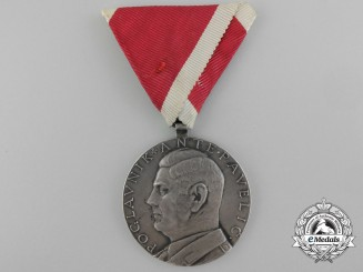 Croatia, Independent State. A Large Bravery Medal, I Class, by Teodor Krivak, c.1941