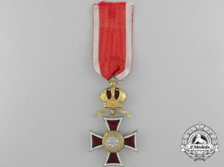 An Austrian Order of Leopold; Knight's Cross c. 1917