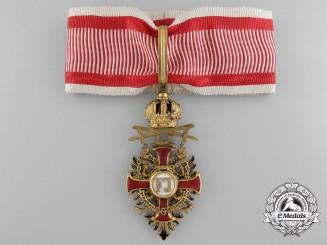 Austria, Imperial. A Franz Joseph Order with Swords, Commander, by V. Mayer, c.1917