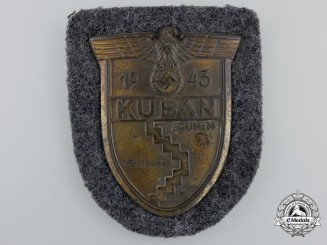 An Luftwaffe Issued Kuban Campaign Shield