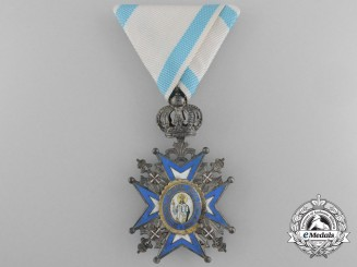 A First War Serbian Order of St. Sava; Fifth Class