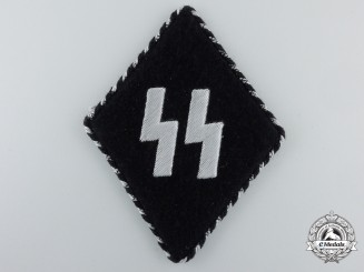 A Germanic SS EM/NCO's Sleeve Diamond With SS RZM Tag