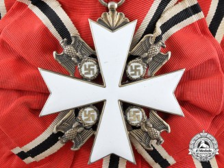An Order of the German Eagle; Grand Cross by Godet