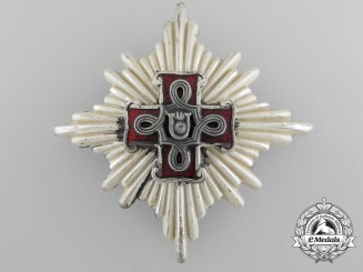 Croatia. A Second War Croatian Order of Merit; 1st Class Star; Christian Version