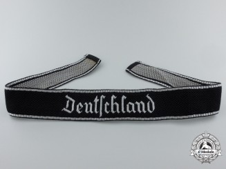 A Mint SS Deutschland Officer's Cufftitle