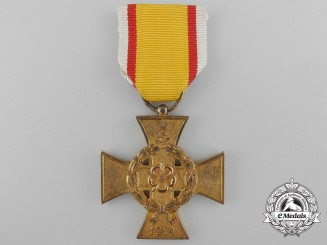 A 1914-1918 Lippe War Merit Cross