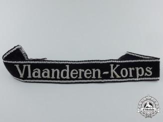 A Rare SS-Vlaanderen-Korps Cufftitle