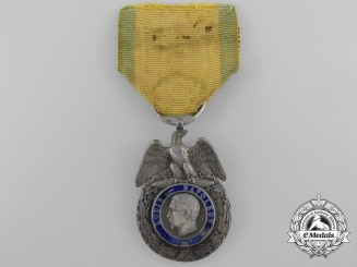 A Scarce French Military Medal Type One; (La Presidence) 1852
