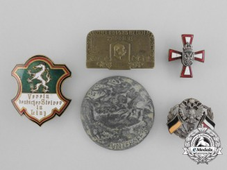 A Lot of Five First War Austrian Badges
