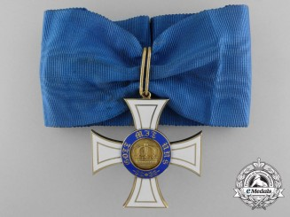 A Prussian Order of the Crown in Gold; Commander's by Wagner