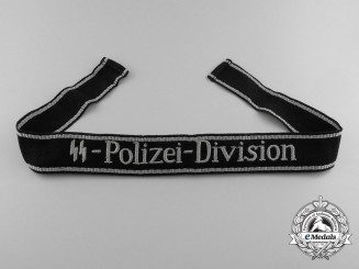 Germany, Waffen-SS. An EM/NCO SS-Polizei-Division Cufftitle